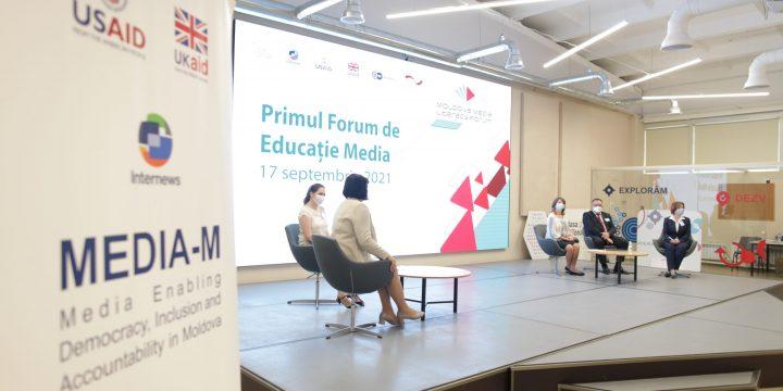 """CJI a lansat primul forum de educație media din Moldova: """"În era războaielor informaționale, gândirea critică este deosebit de actuală"""""""